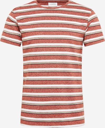 Lindbergh Shirt 'Mouliné' in rot, Produktansicht