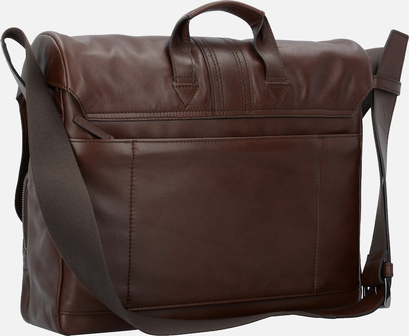 BREE Gordon 1 Messenger Businesstasche Leder 37 cm Laptopfach