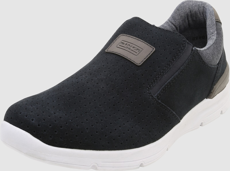Rieker Slip-on Sneaker Suede From