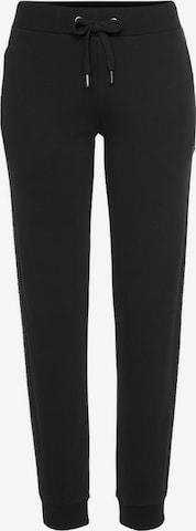Pantalon de sport LASCANA ACTIVE en noir
