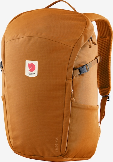 Fjällräven Rucksack 'Ulvo' in dunkelorange / rot / weiß, Produktansicht