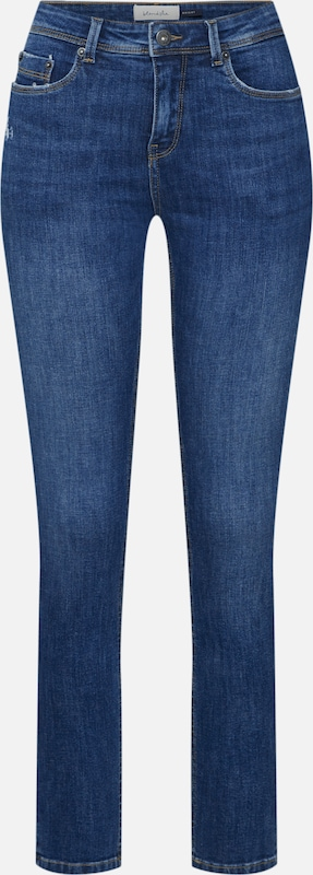 Blend She Jeans in blau: Frontalansicht
