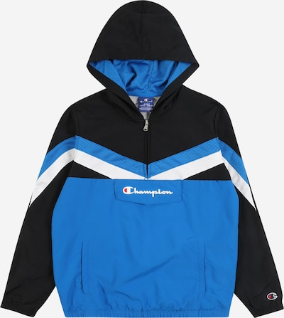 Champion Authentic Athletic Apparel Hoodie in blau / schwarz, Produktansicht