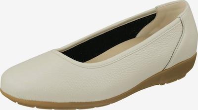 Natural Feet Ballerina 'Johanna' in ecru, Produktansicht