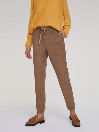 Kelnės iš heine , spalva - šokolado spalva: Vaizdas iš priekio