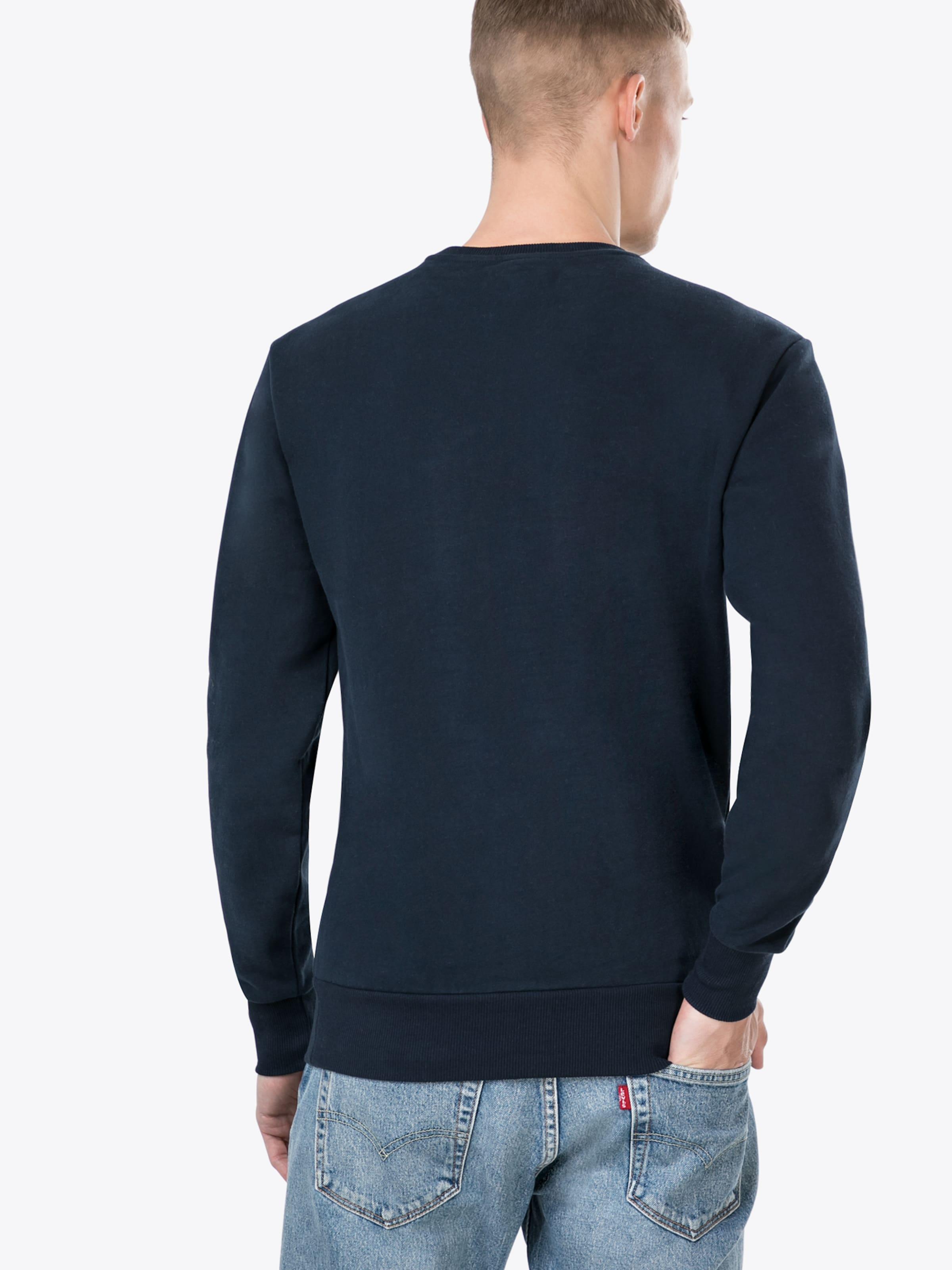 Ellesse En Foncé 'diveria' shirt Sweat Bleu zpLqVUGMS