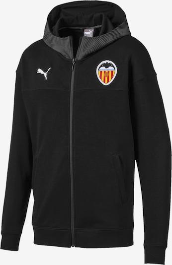 PUMA Jacke 'Valencia CF CUP Casuals' in schwarz, Produktansicht