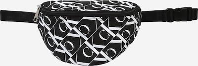 Calvin Klein Jeans Torba | črna / bela barva, Prikaz izdelka