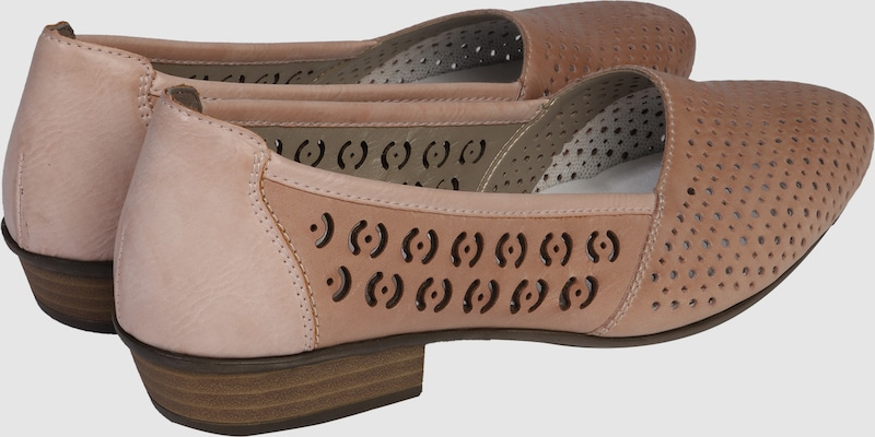 RIEKER Ballerina Casual mit Cut Out-Muster