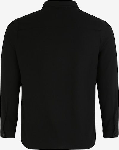 ABOUT YOU Curvy Blouse 'Elonie' in de kleur Zwart: Achteraanzicht