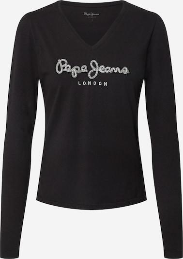 Pepe Jeans Shirt 'Dita' in schwarz / weiß, Produktansicht