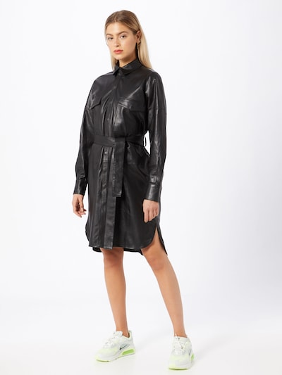 RAIINE Košilové šaty 'Denton' - černá, Model/ka