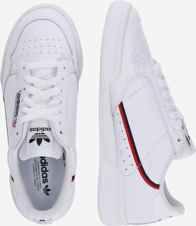 ADIDAS ORIGINALS Continental 80 Sportmode Sneakers Schuhe in navy / rot / weiß: Seitenansicht