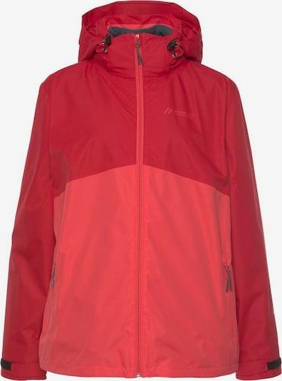 Maier Sports Jacke in pink / rot, Produktansicht