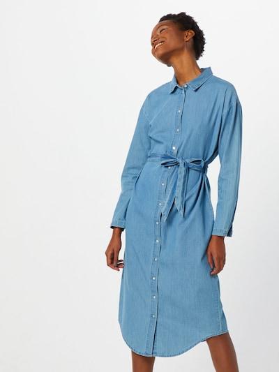 MOSS COPENHAGEN Kleid 'Lyanna' in blau, Modelansicht
