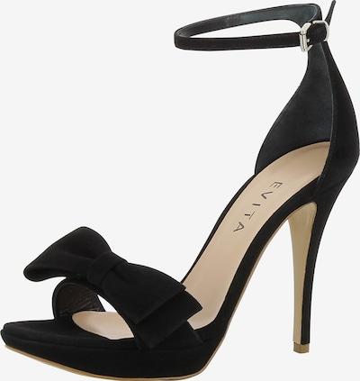 EVITA Sandalette 'Valeria' in schwarz, Produktansicht