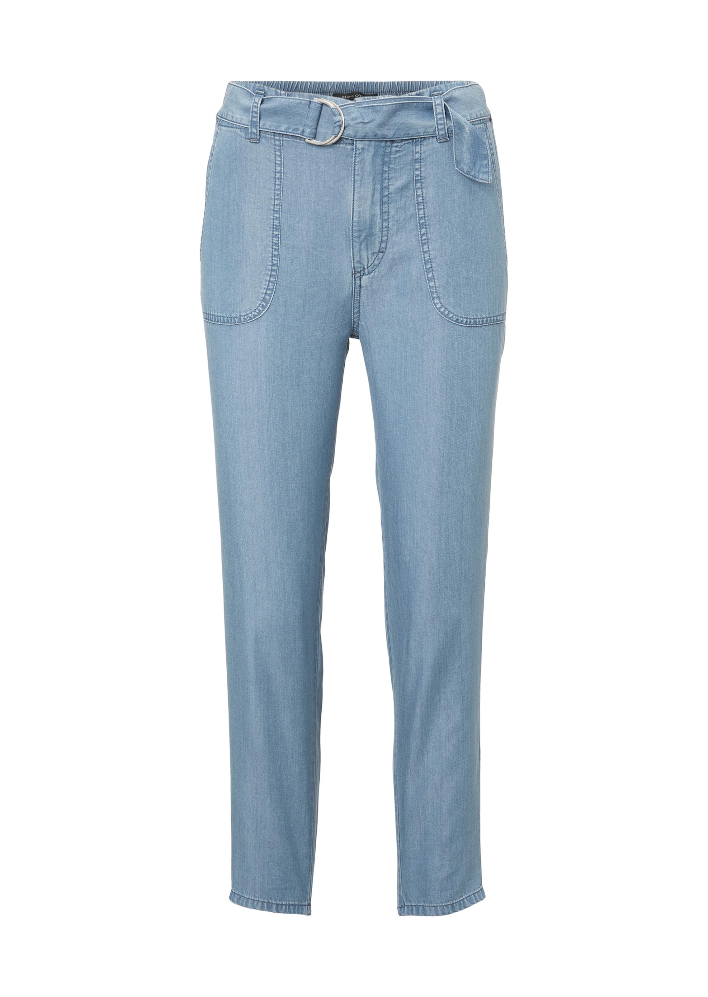 Pantalon En Marc O'polo Bleu Denim TlKJc3u15F