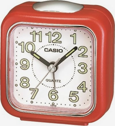CASIO Quarzwecker in rot, Produktansicht