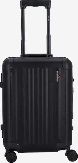 Hardware Kabinentrolley 55 cm in schwarz, Produktansicht