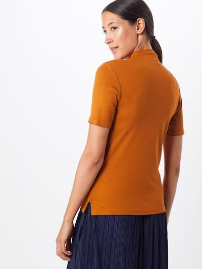Rich & Royal T-Krekls 'Funnel' pieejami konjaka toņa / okera: Aizmugures skats