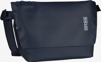 BREE Schoudertas 'Punch 731' in de kleur Kobaltblauw, Productweergave