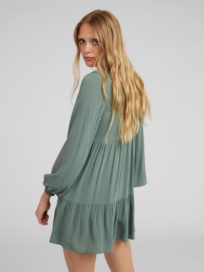 EDITED Robe 'Heather' en vert: Vue de dos
