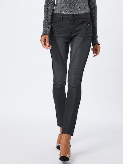 EDC BY ESPRIT Jeans 'MR SKINNY' in black denim, Modelansicht