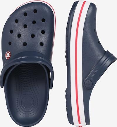 Crocs Pantolette 'Crocband' in navy: Seitenansicht