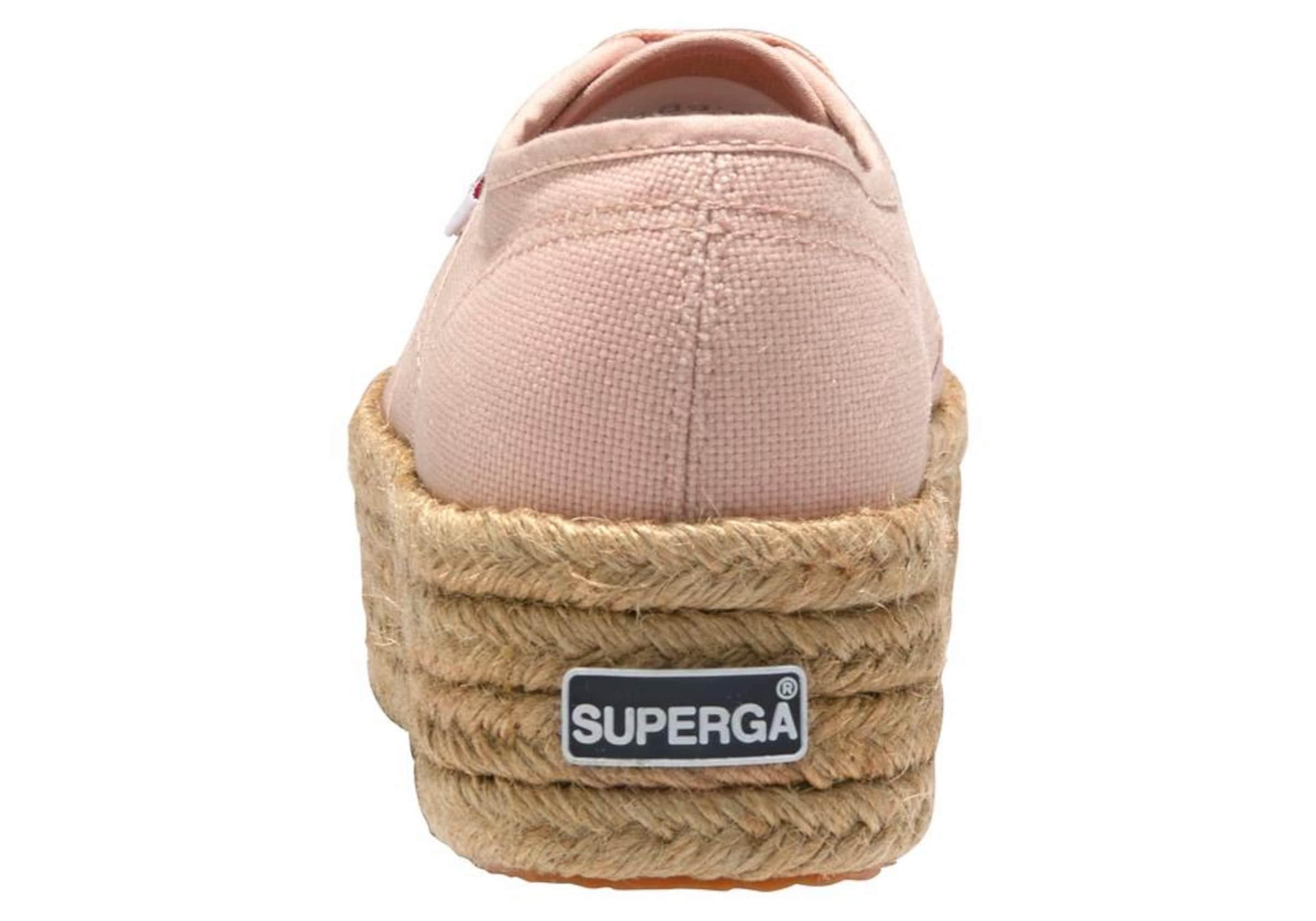 SUPERGA Sneaker '2790 - COTROPEW' mit Jute-Plateau Outlet-Store Verkauf 100% Authentisch Günstig Kaufen Exklusiv VbSCt5vp