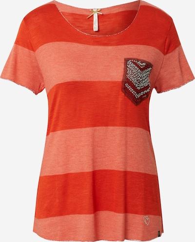 Key Largo Shirts 'JANA' in koralle / rot: Frontalansicht