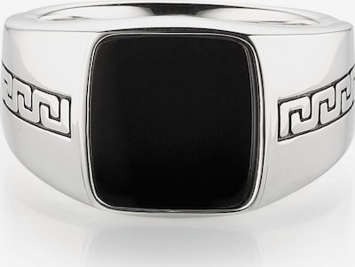 BRUNO BANANI Ring 'B4004R/90/13' in schwarz / silber, Produktansicht