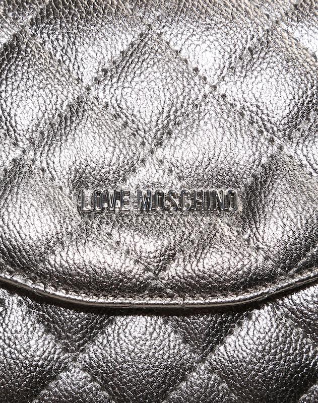 Sac À Bandoulière Love Moschino Slim Avec Coutures Matelassées