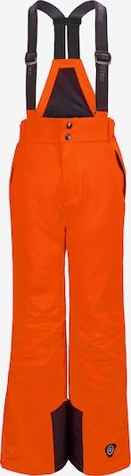 KILLTEC Skihose in orange / schwarz, Produktansicht