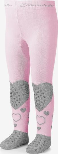 STERNTALER Krabbelstrumpfhose in grau / rosa, Produktansicht