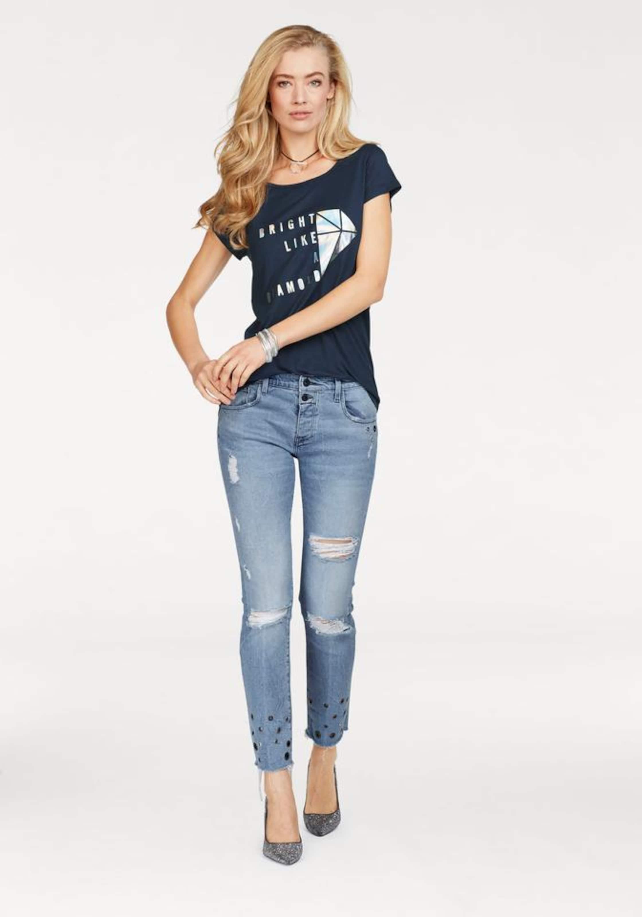 Billig Verkauf Gut Verkaufen Neueste Cross Jeans Rundhalsshirt Az0OJURSY
