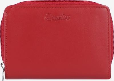 Esquire Geldbörse 'New Silk' in rot, Produktansicht