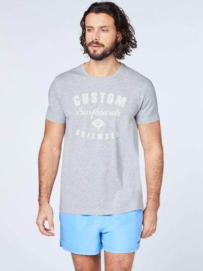 CHIEMSEE Sportshirt in grau: Frontalansicht