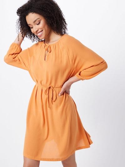 basic apparel Kleid 'Felicia' in orange, Modelansicht