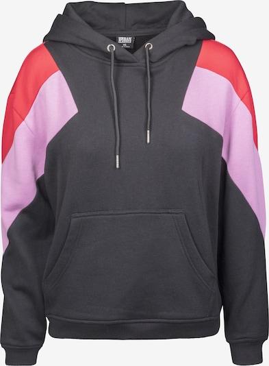 Megztinis be užsegimo iš Urban Classics Curvy , spalva - rožinė / raudona / juoda, Prekių apžvalga