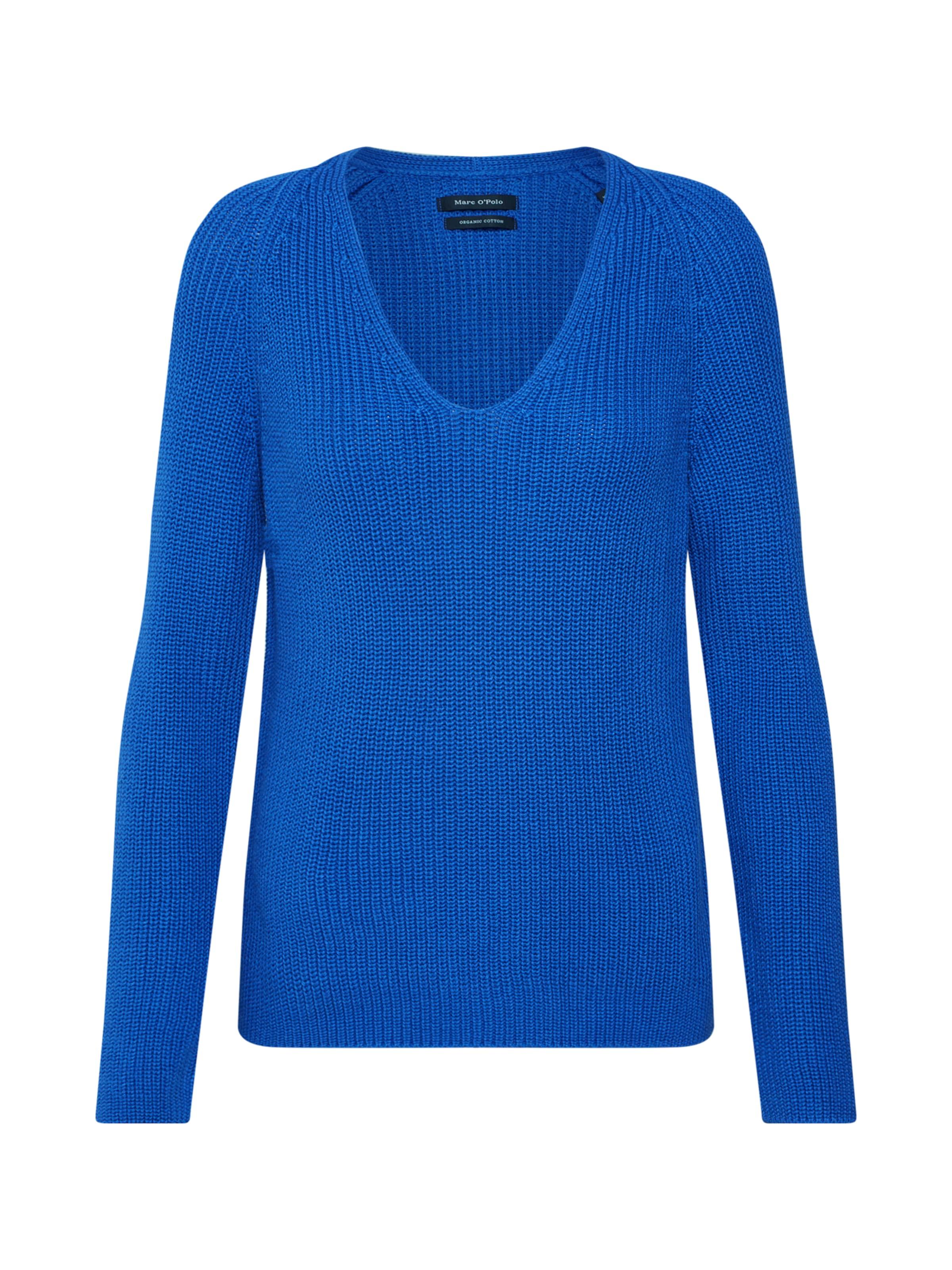 Marc O'polo 'pullover over Bleu Sleeve' Long Roi Pull En OPwn0k