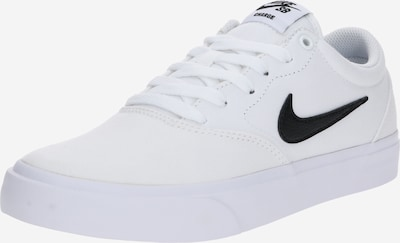 Nike SB Sneakers low 'Charge SLR' in black / white, Item view