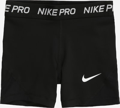 NIKE Sportske hlače u crna / bijela, Pregled proizvoda