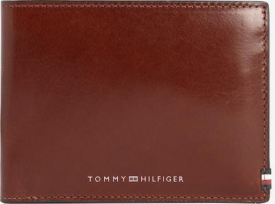 TOMMY HILFIGER Kabatas portfelis 'POLISHED LEATHER EXTRA CC & COIN' pieejami kastaņbrūns, Preces skats