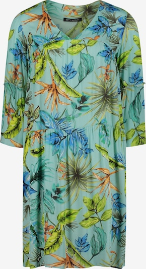 Betty Barclay Sommerkleid mit 3/4 Arm in grün / petrol, Produktansicht