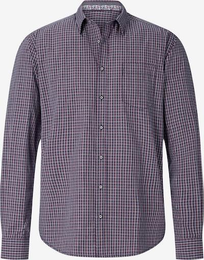 Shirtmaster Overhemd 'Nolumberjackhere' in de kleur Navy / Gemengde kleuren, Productweergave