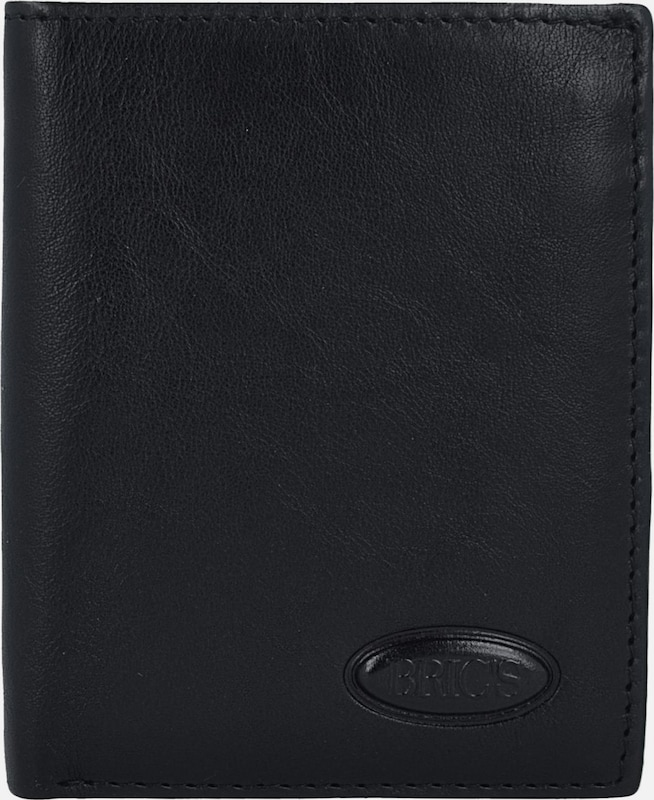 Brics Monterosa Wallet Leather Rfid 7.5 Cm