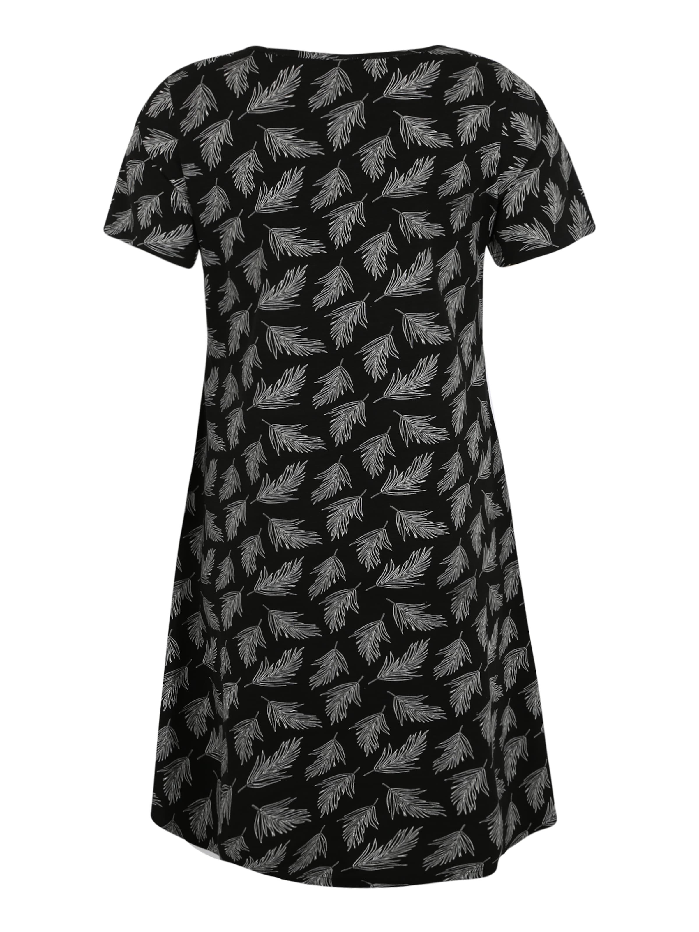 Kleid In Kleid Zizzi SchwarzWeiß SchwarzWeiß In Zizzi EHD29IYW