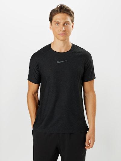 NIKE Functioneel shirt 'Pro' in de kleur Zwart: Vooraanzicht
