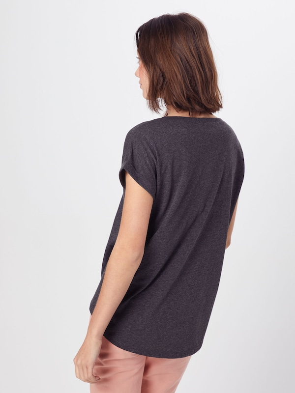 Gris 'dreamers' En Foncé T shirt Vila Nm0wn8
