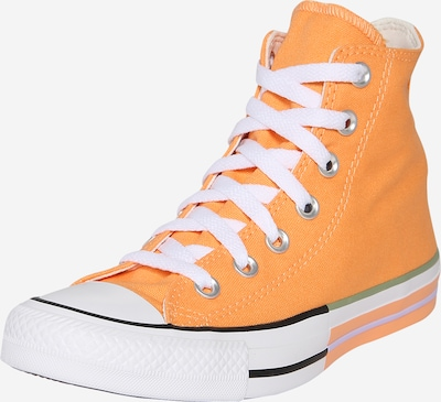 CONVERSE Sneaker 'Chuck Taylor All Star - HI' in orange / weiß, Produktansicht